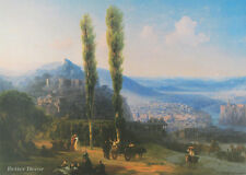 "28"" PRINT View of Tiflis,1869 by Aivazovsky ANTIQUE MUSEUM ART - LANDSCAPE"