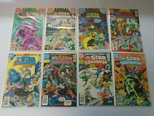 All Star Squadron comic lot 52 pieces from:#1-67 & 3ANN 6.0 FN (1981-87)