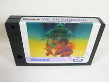 MSX YIE AR KUNG FU 2 Cartridge Only Konami RC737 Import Japan Game msx cart