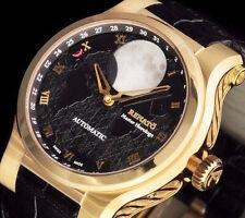 Renato Swiss Made Martin Braun Hand Modified 2824 Patented Moonphase Watch