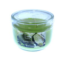 mainstays lime cilantro  3 wick candle jar 11.5oz   326gm