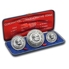 1967 Tonga 3-Coin Palladium Coronation Commem Set (3.529 APW) - SKU #63825