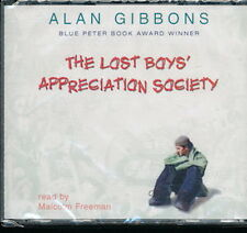 Audio book - The Lost Boys' Appreciation Society by Alan Gibbons -  CD  -  Abr