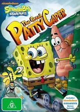 Spongebob Squarepants: The Great Patty Caper DVD SEALED Region 4*