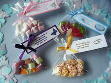 10 bags personalised wedding favors choice of sweet
