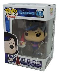 Funko Pop Trollhunters Claire With Gnome #468 Vinyl Figure