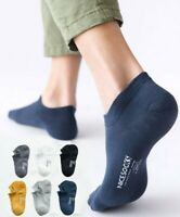 5 Pack Mens Combed Cotton Socks Loafer Boat Mesh Breathe Ankle No Show Sports