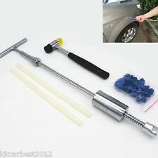 Paintless Dent Pit Puller Slide Hammer Set Car Van Garage Tool Body Repair Kit