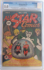 ALL STAR COMICS  8  CGC 5.0 - 1056369005 - 1st appearance of Wonder Woman!