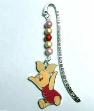 Piglet Novelty Bookmark with Magic Miracle Beads great encourage reading !
