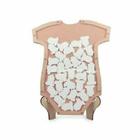 BABY SHOWER CARDS BOX GUEST BOOK WISHING WELL WISHES DROP 40 cards gifts pink