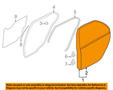 MITSUBISHI OEM 2004 Lancer Rear Door-Shell Frame Panel Left 5730A021