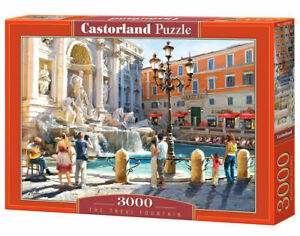 Castorland C-300389-2 - The Trevi Fountain, Puzzle 3000 Pieces - New