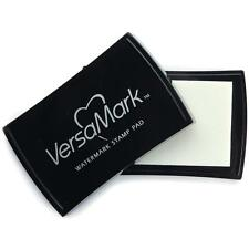 Tsukineko VersaMark Watermark Ink Stamp Pad 2x3 VM-001 use with powders