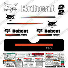 Bobcat S570 Compact Track Loader Decal Kit Skid Steer (Straight Stripes)