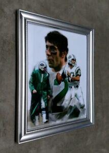 New York Jets Joe Namath Collage 8x10 Framed Photo