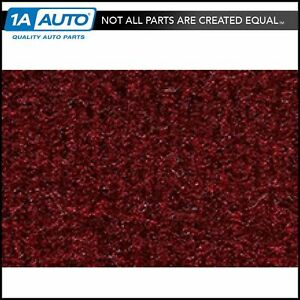 for 1984-86 Dodge 600 Convertible Cutpile 825-Maroon Complete Carpet Molded