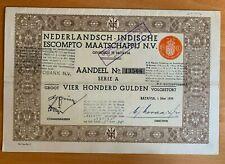 Nederlandsch - Indische Escompto Maatschappij - Batavia