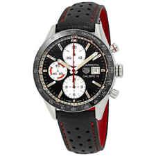 Tag Heuer Carrera Chronograph Automatic Black Dial Men's Watch CV201AP.FC6429