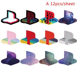 12pcs Custom Vinyl Decal Skin for PS5 Logo Underlay Sticker for PlayStatio Y1