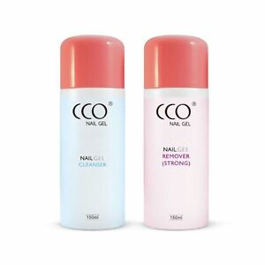 CCO Soak Off Acrylic UV Nail Cleanser 100% Acetone Remover for Any Gel Polish