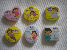 Lot of 6 Dora The Explorer Magic Towel Wash cloth Party Favors