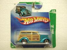 HotWheels 2009 TH5/12  #40 '37 Ford, on short card,
