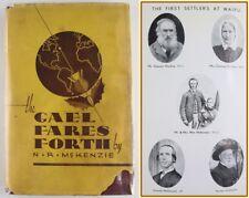 THE GAEL FARES FORTH*WAIPU HIGHLAND SETTLEMENT*NEW ZEALAND*CANADA*NORMAN MACLEOD