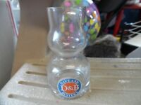 Dave & Busters Over Under shot glass