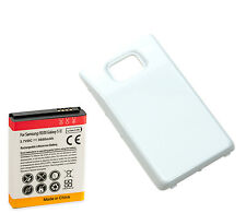 Long Life 3600mAh Extended Battery + Back Cover for Samsung Galaxy S2 i9100 Wte