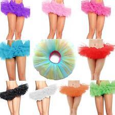 Hot 5 Layers Gauze Sexy Women Performance Tutu Dancewear Ballet Bubble Skirt