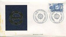 ESSAIE SERIGRAPHIE DE LANGE  PREMIER JOUR 1982  EUROPA TRAITE DE ROME