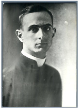 Paul VI Vintage silver print Tirage argentique  11x16  Circa 1963