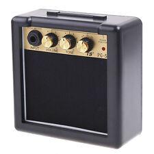 Durable PG-5 5Watt Electric Guitar Amp Amplifier Speaker Volume Tone Control TA