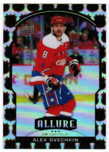 20/21 2020 UPPER DECK UD ALLURE ALEX OVECHKIN #1 NHL SHIELD 1945 PARALLEL /45