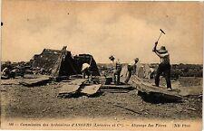 CPA  Commission des Ardoisiéres d'Angers( Lariviére et C.) Alignage des (207105)