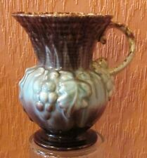 West German Drip-glazed Jug / Pitcher No. 275-17 with Vine & Grapes.