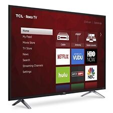 Tcl 49S405 49-Inch 4K Ultra Hd Roku Smart Led Tv 2017 Model Brand New