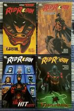 Red Robin Vol.'s 1-4 TPB Complete Series DC Comics Brand New