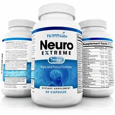 Memory Focus Clarity Concentration Mood Cognitive Neuro Extreme Pill Boost DMAE