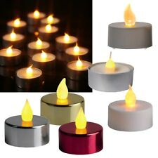 2er Set LED Tealights Flickering, With Flickering Candle Leds