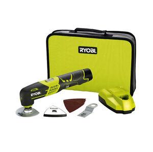 New Ryobi 12V Li-Ion Cordless Multi Function Tool Kit