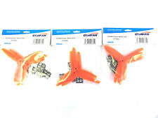 Gemfan Orange 6 X 4 6040 Glass Fiber Three Bladed Quadcopter Props - 12 Props