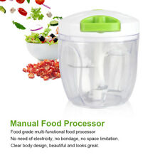 Manual Food Meat Grinder Processor Vegetables Fruit Chopper Blender Slicer Tool