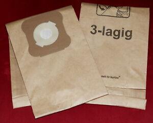 3x Staubsaugerbeutel, Filtertüten, Papier 3-Lagig geeignet f. Kirby bis G10