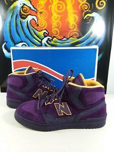 "New Balance 740 X Packer Shoes ""purple reign"" James Worthy P740PPR"
