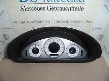 Mercedes CLK W209 Cabrio Avantgarde UK Tacho Kombiinstrument Cockpit 2095405848