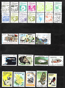Nicaragua  .. A collection of postage stamps .. 5560