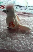 TY Retired Beanie Baby 1997 KuKu with Gasport and Dates Error on Tags