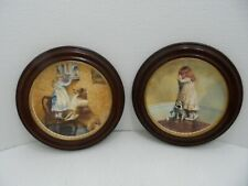 Royal Doulton Set Of 2 A Victorian Childhood Collector Plates by Charles Barber